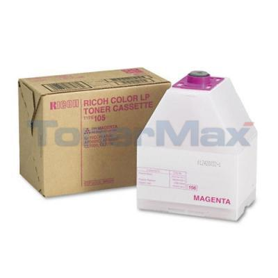 RICOH AFICIO CL7000 TYPE 105 TONER CASSETTE MAGENTA
